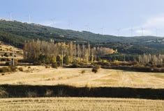 De molens van de wind Stock Afbeelding