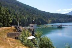 De Molens van het meer en de Dam van de Canion Glines Royalty-vrije Stock Afbeeldingen