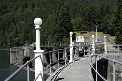 De Molens van het meer en de Dam van de Canion Glines Royalty-vrije Stock Afbeelding