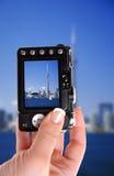 De momentopname van de Toren van Toronto stock foto's