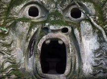 De mond van het monster Stock Afbeeldingen