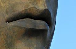 De mond van het standbeeld stock foto's