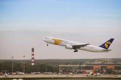 De Mongoolse straal van Luchtvaartlijnen Royalty-vrije Stock Foto