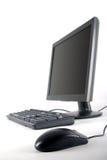 De Monitor en de Muis van het toetsenbord Stock Afbeeldingen