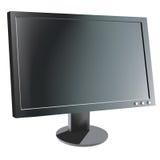 De monitor van de computer royalty-vrije illustratie