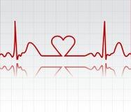 De monitor van het hart Royalty-vrije Illustratie