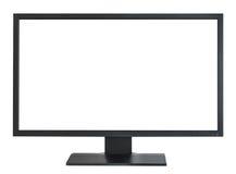 De monitor van Widecreen stock fotografie
