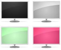 De monitors van de elegantie Stock Afbeeldingen