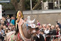 De monnik van München van de Oktoberfest-parade Royalty-vrije Stock Fotografie