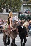 De monnik van München van de Oktoberfest-parade Royalty-vrije Stock Foto's