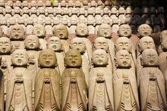 De monnikenstandbeelden van de steen Royalty-vrije Stock Foto's