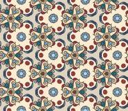 De mono retro stijl van het lijnpatroon voor uw ontwerp Royalty-vrije Stock Afbeeldingen