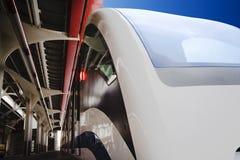 De Monorail van Moskou stock afbeeldingen