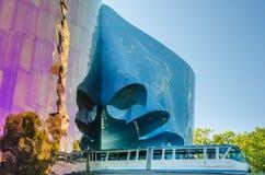 De Monorail van Seattle Stock Fotografie