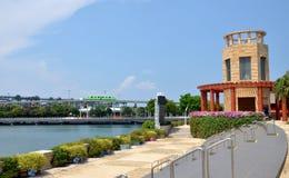 De monorail van Singapore van Sentosa-Eiland Royalty-vrije Stock Afbeeldingen