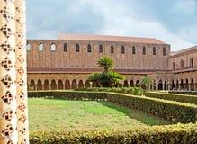De Monreale-tuin van het Klooster Royalty-vrije Stock Foto