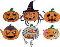 De monsters van Halloween Royalty-vrije Stock Afbeelding