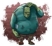 De monsters van Halloween ` s: Monster van Dr. Frankenstein stock illustratie