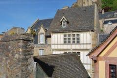 ` de Mont Saint-Michel Photos stock