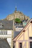 ` de Mont Saint-Michel Images stock