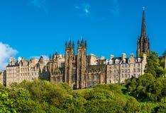 De Montagehal, Edinburgh, Schotland stock afbeeldingen