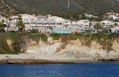 De montering in Laguna Beach, Californië stock afbeelding