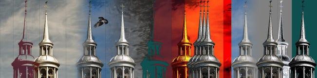 De montering van de torenspitsfoto Royalty-vrije Stock Afbeelding