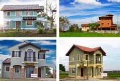 De montering van het huis Royalty-vrije Stock Fotografie
