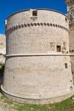 De Monti Castle of Corigliano d'Otranto. Puglia. Italy. Stock Images