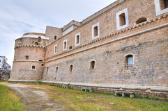 De Monti Castle of Corigliano d'Otranto. Puglia. Italy. Stock Photos