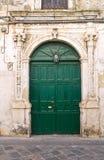 De Monti palace. Corigliano d'Otranto. Puglia. Italy. Royalty Free Stock Photo