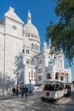 De Montmartre, Paris Le Sacré Coeur Lizenzfreies Stockbild