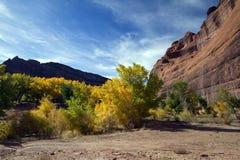 de monument för arizona kanjon chelly national Arkivfoto