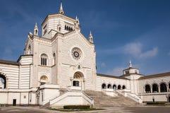 De monumentale begraafplaats van Milaan Royalty-vrije Stock Foto