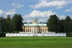 De monumenten en het paleis Royalty-vrije Stock Foto's