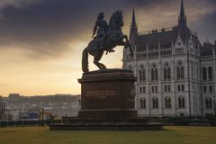 De monumenten van Boedapest Royalty-vrije Stock Afbeeldingen