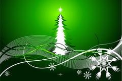 De mooie abstracte vectorachtergrond van Kerstmis Royalty-vrije Stock Foto