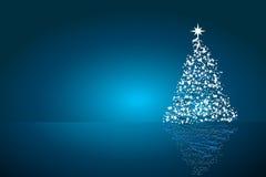 De mooie abstracte vectorachtergrond van Kerstmis Stock Foto