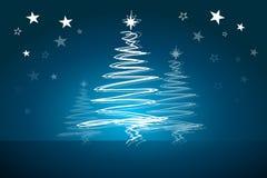 De mooie abstracte vectorachtergrond van Kerstmis Royalty-vrije Stock Foto's