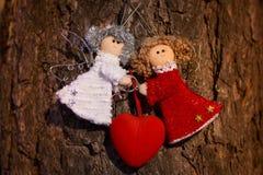 De mooie achtergrond van de Dag van valentijnskaarten Royalty-vrije Stock Afbeelding