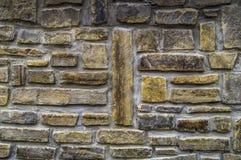 De mooie achtergrond van de steenmuur van vlakke stenen stock afbeeldingen