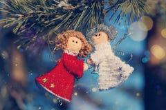 De mooie achtergrond van de winterselebrations Stock Foto