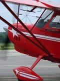 De mooie aerobatic Super Tienkamp van 2012 Amerikaanse Kampioensvliegtuigen 8KCAB Stock Foto's