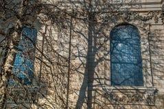 De mooie architectuur van de buitenkant royalty-vrije stock foto