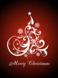 De mooie artistieke achtergrond van Kerstmis Stock Afbeeldingen