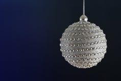 De mooie bal van diamantkerstmis Stock Foto