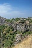 De mooie bergkloof van Azat River Royalty-vrije Stock Fotografie