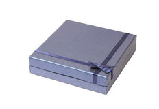 De mooie blauwe Doos van de Gift Royalty-vrije Stock Afbeelding