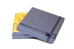 De mooie blauwe open Doos van de Gift Stock Fotografie