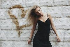 De vrouw van de blonde Royalty-vrije Stock Afbeeldingen